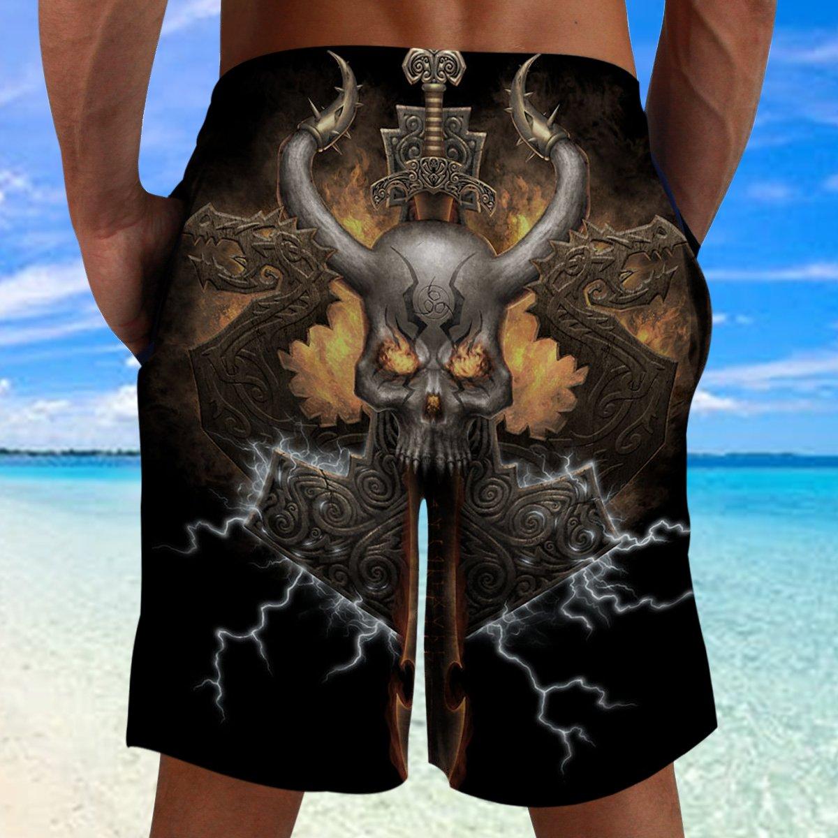 Viking Surtur Beach Shorts