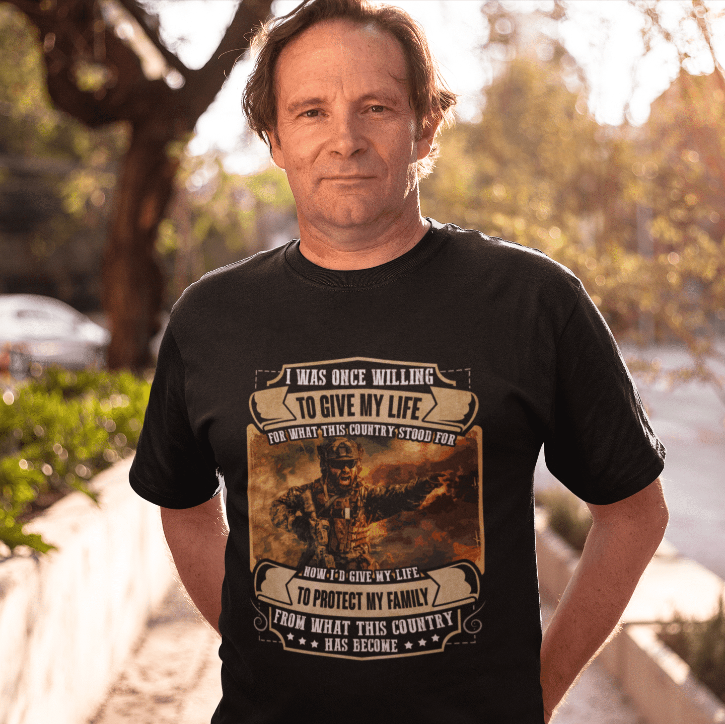 Memorial Day I Was Once Willing to Give My Life Shirts