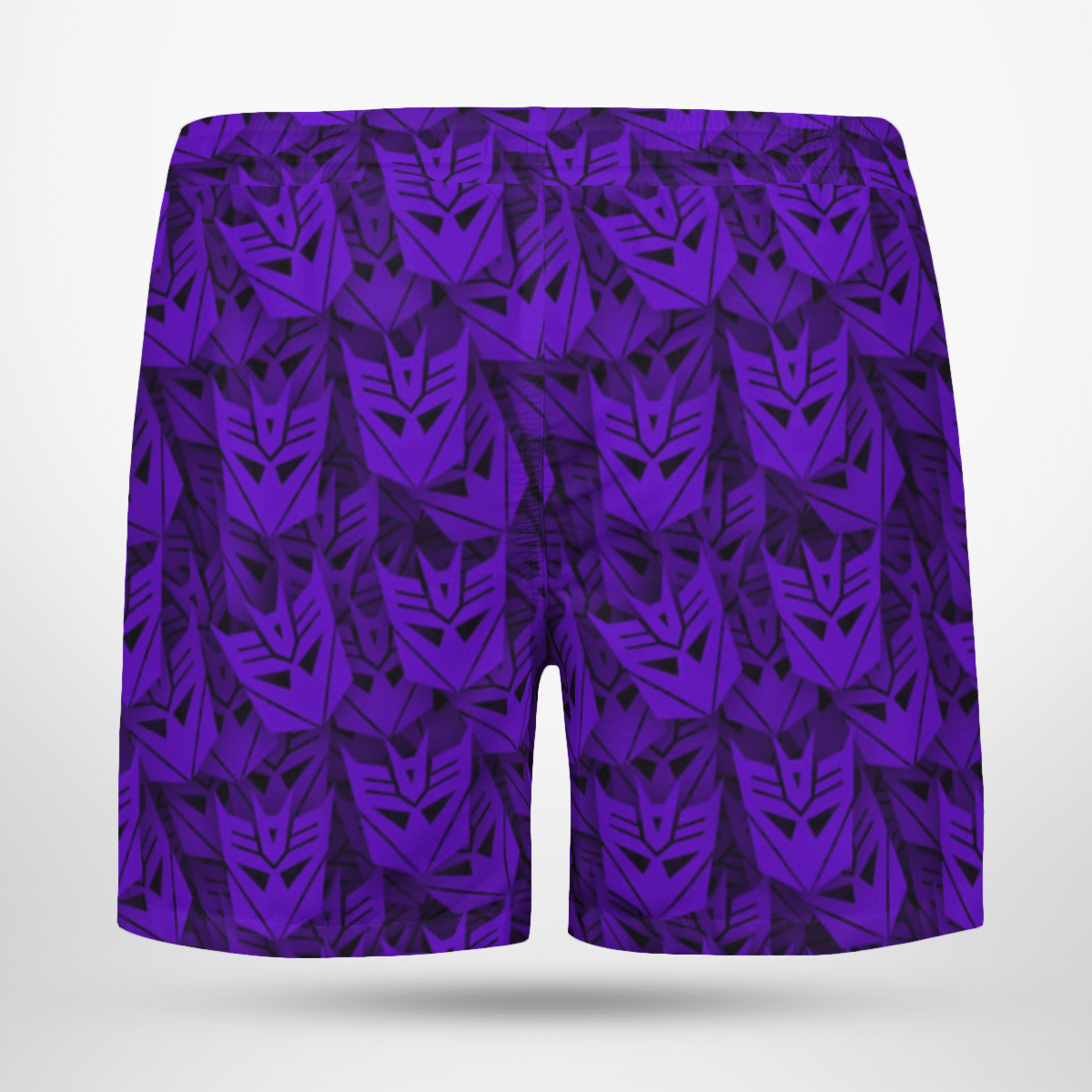 Transformers Decepticon face Hawaiian Shorts