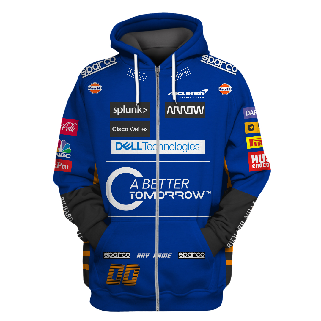Personalized Sparco F1 racing A Better Tomorrow Tshirt and Hoodie
