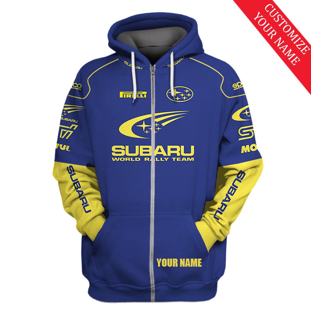 Personalized Subaru World Rally team T shirt and Hoodie