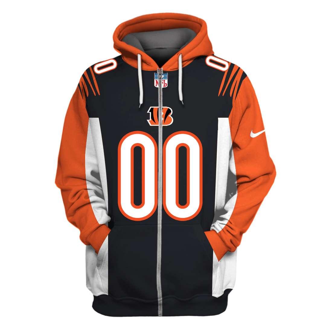 Personalized NFL Cincinnati Bengals hoodie and sweatshirt