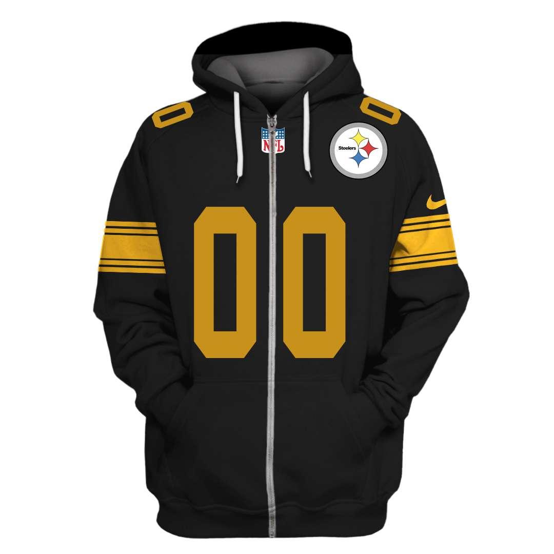 Personalized NFL Pittsburgh Steelers hoodie sweatshirt