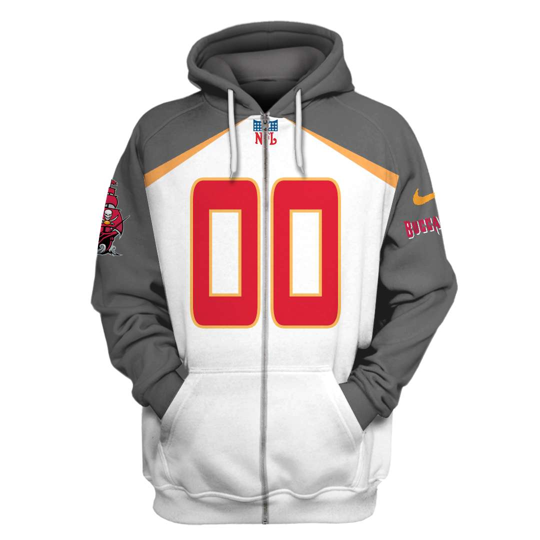 Custom Name Tampa Bay Buccaneers 3D hoodie and sweatshirt