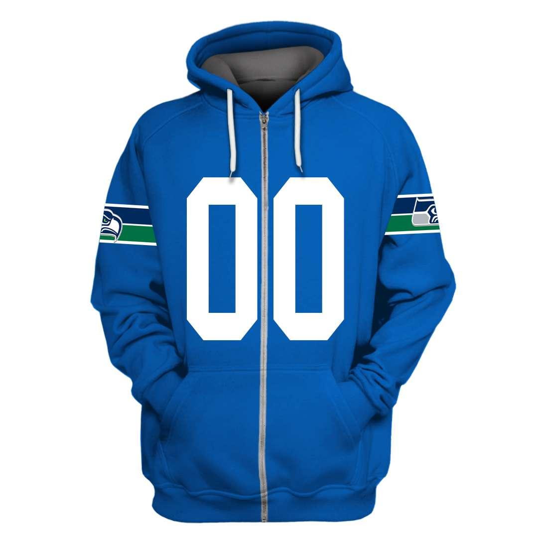 Personalized Seattle Seahawks 3D hoodie sweatshirt