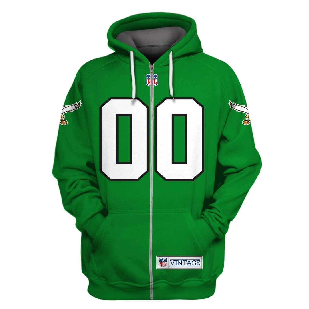 Customized NFL Philadelphia Eagles 3D hoodie sweatshirt