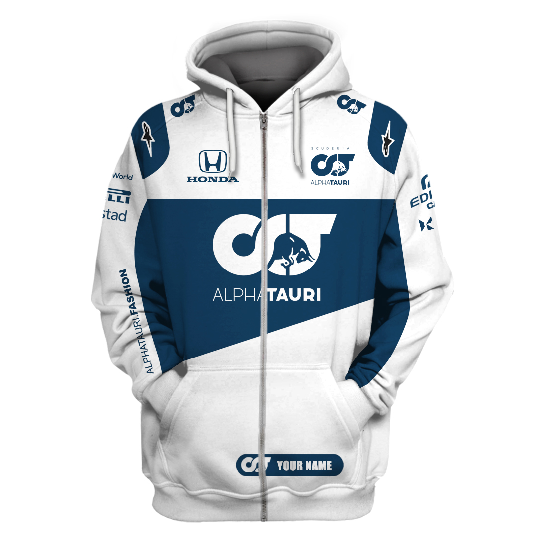 Personalized Alphatauri Formula 1 3D hoodie T Shirt