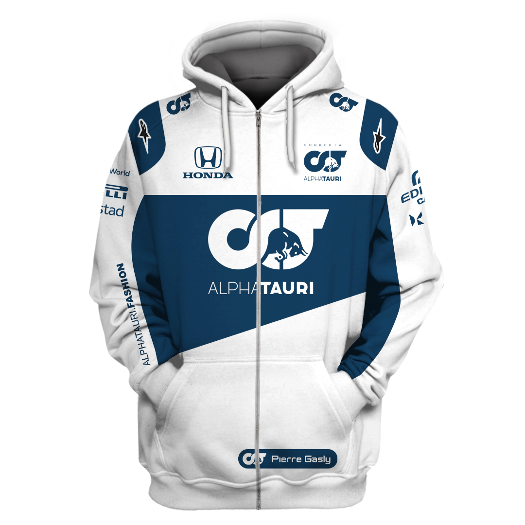 Limited Edition Alphatauri F1 team 3D T shirt and hoodie