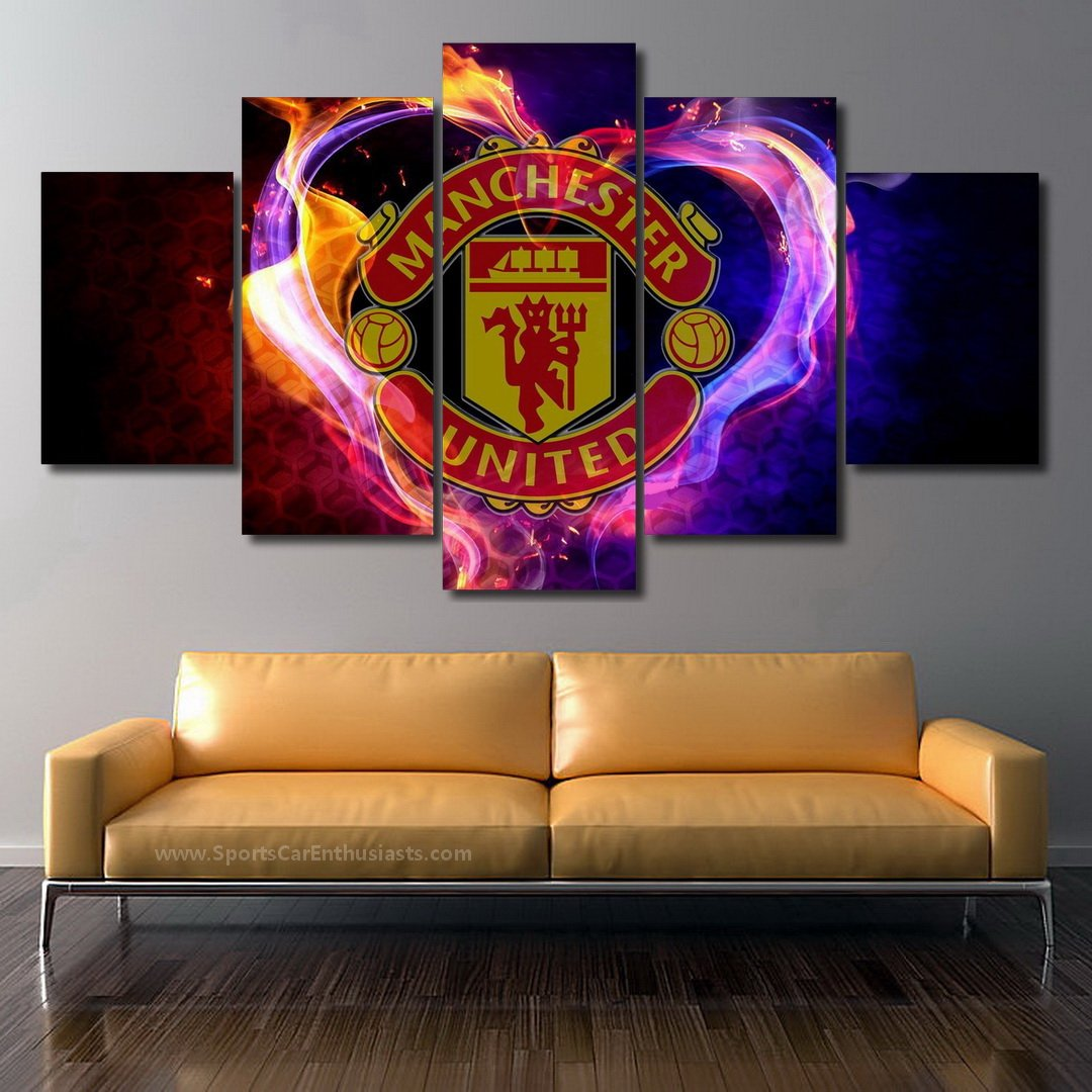 Manchester United FC Canvas 5 panel