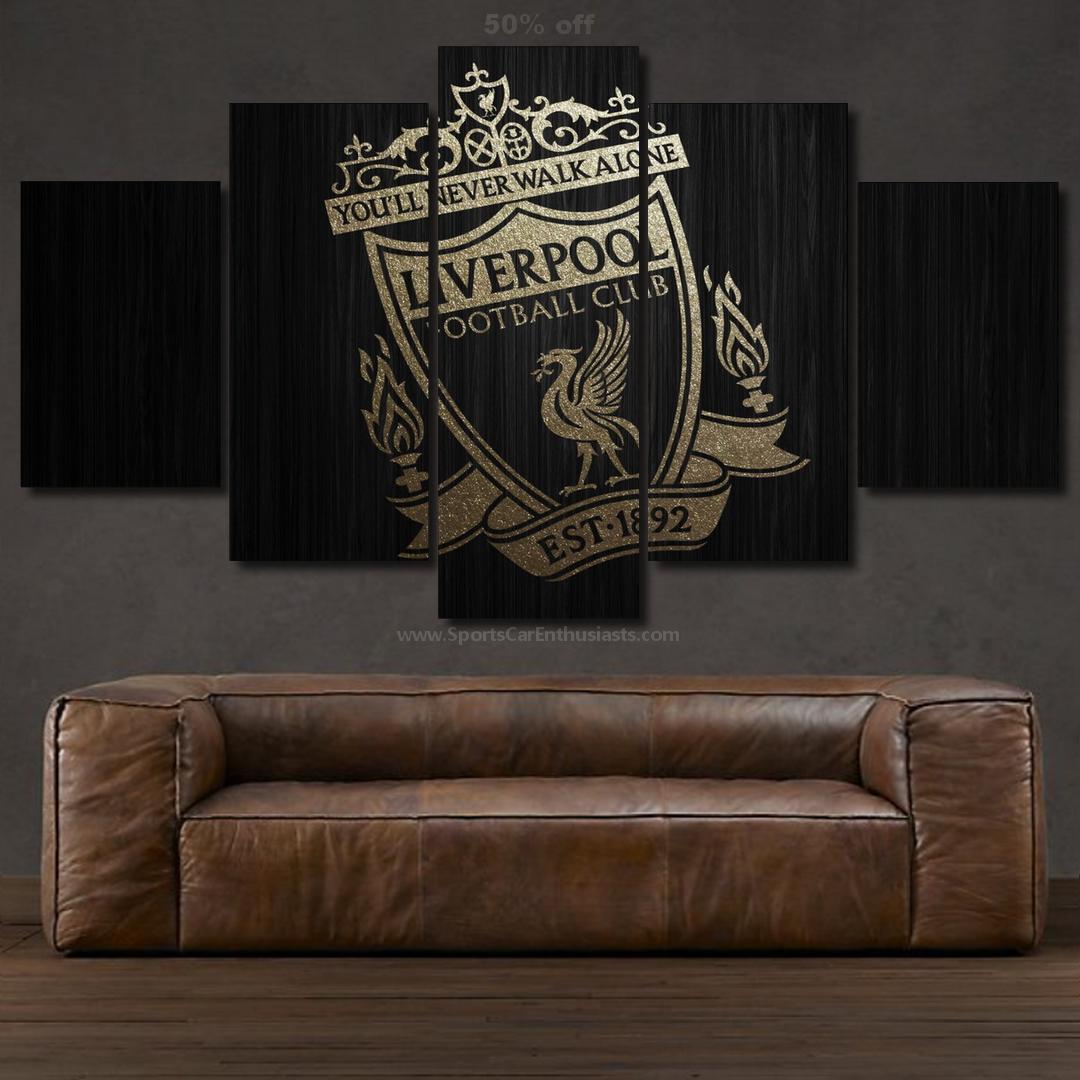 Liverpool FC Canvas 5 panel