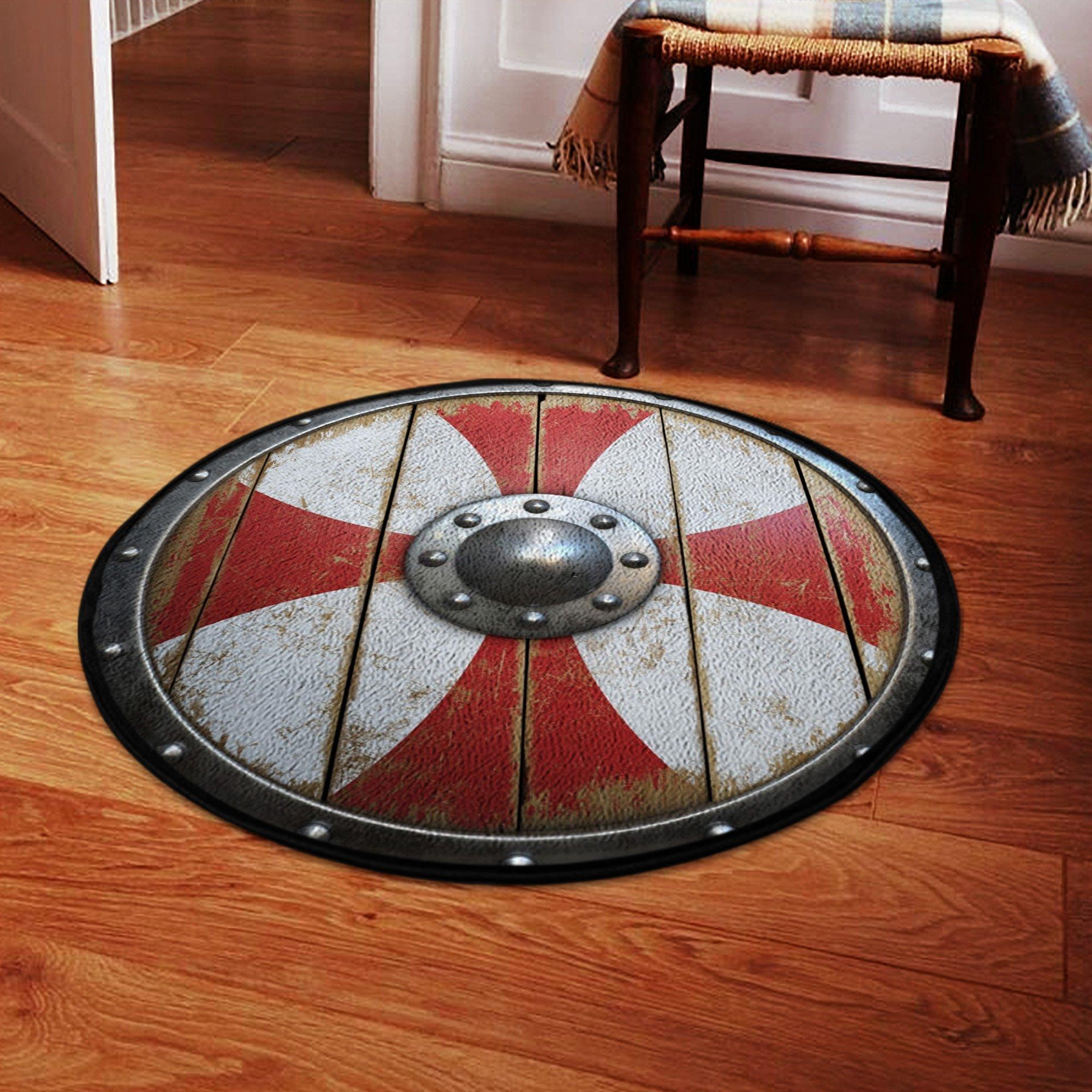Viking Shield classic Round Rug