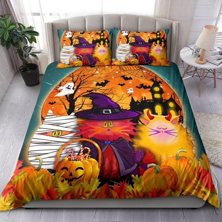 Cat Halloween night Bedding Set
