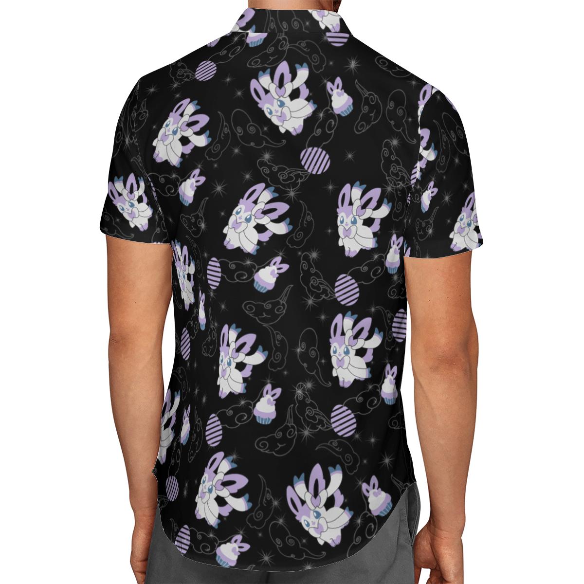 Pokemon Sylveon Hawaiian Shirt