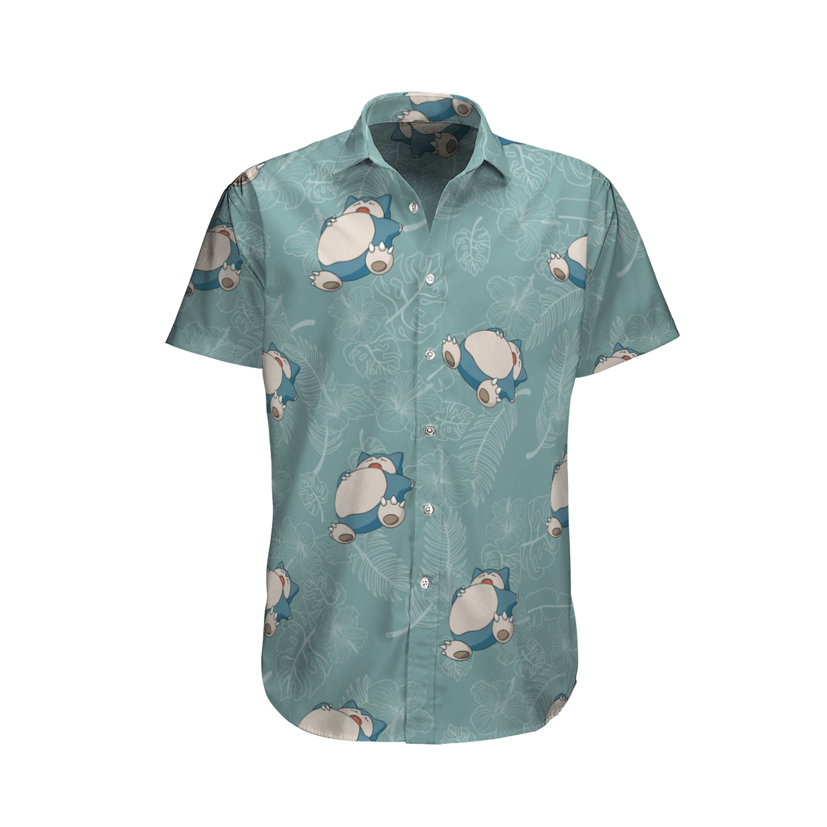 Pokemon Snorlax Hawaiian Shirt