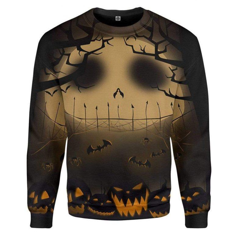 Jack Pumpkin Halloween 3D Sweater