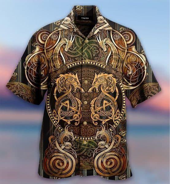 Born To Be A Dragon Hawaiian Shirt