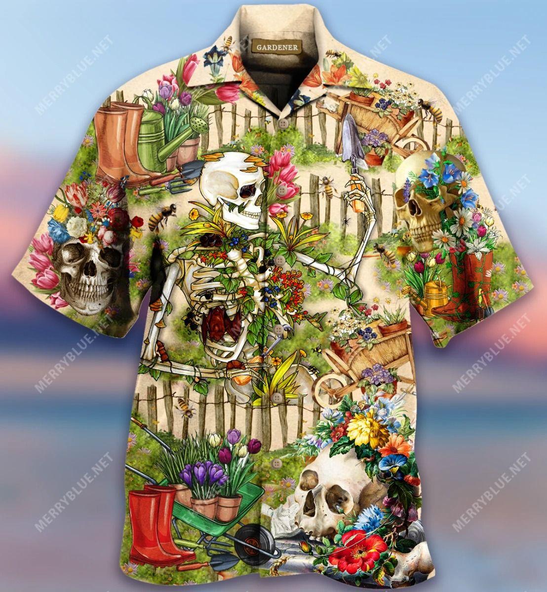 Gardening Saved Me From Being A Pornstar Now I'M Just A Gardener Hawaiian Shirt