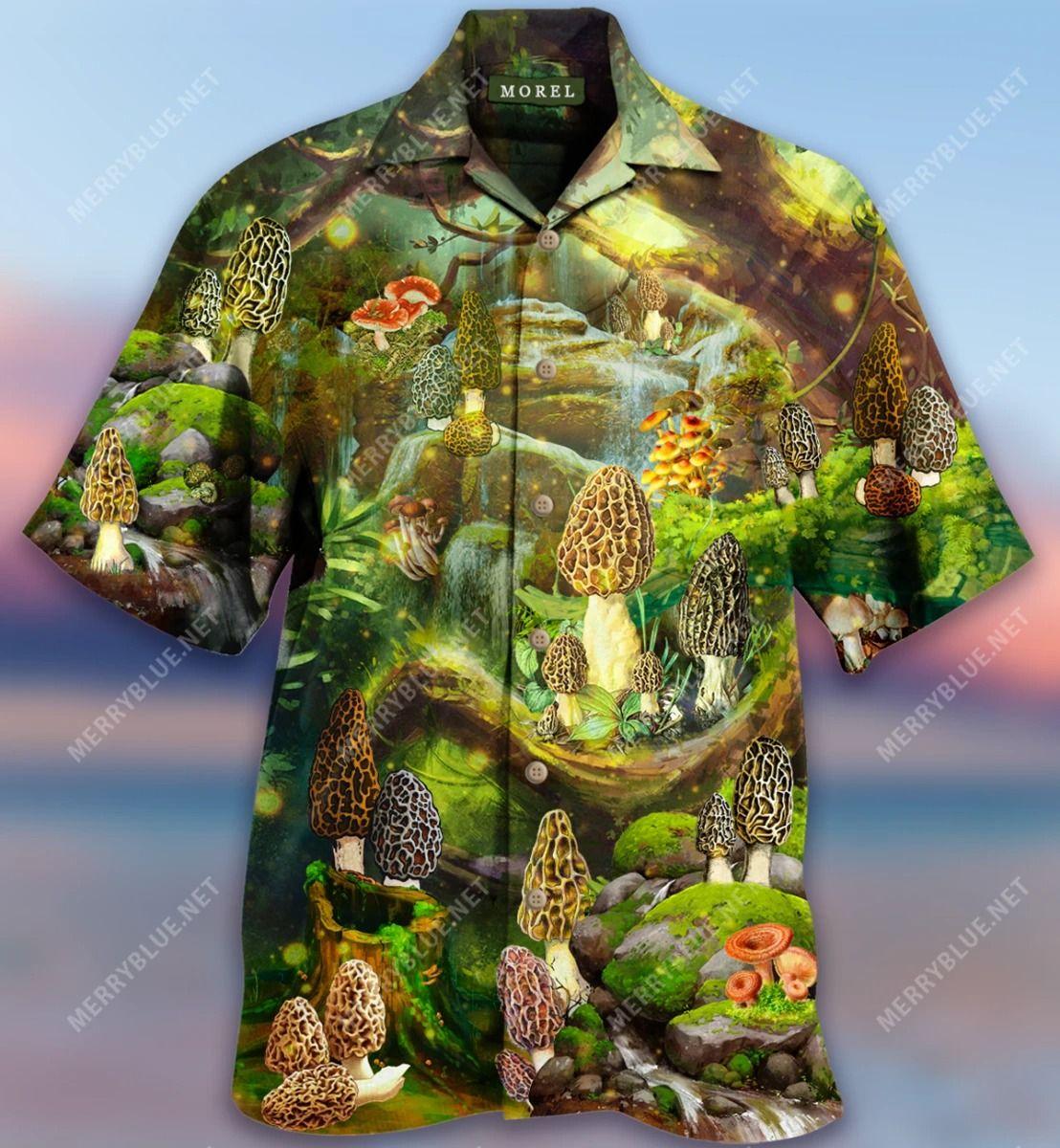 You Can Trust Me I Have Good Morels Mushroom Hawaiian Shirt