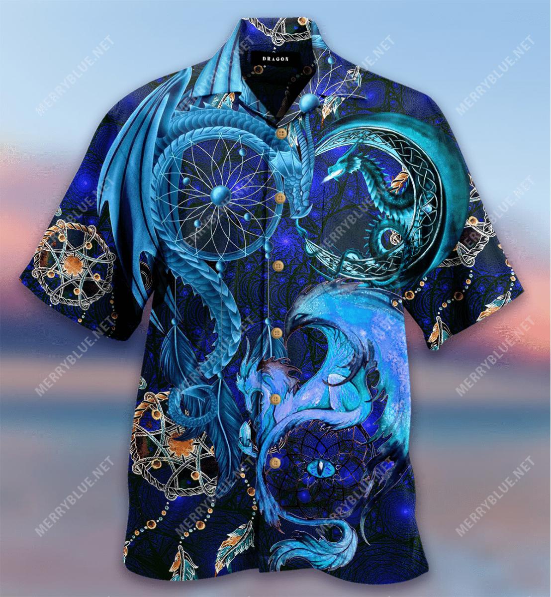 Dreamcatcher Dragon Hawaiian Shirt
