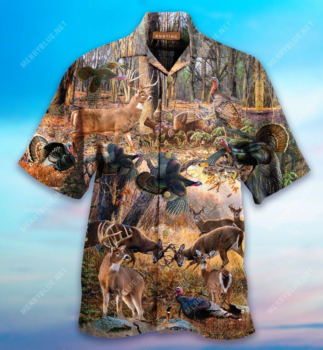 If It Flies It Dies If It Hops It Drops Hawaiian Shirt