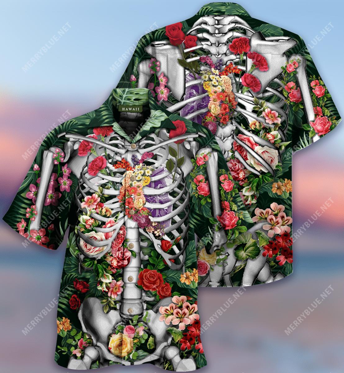 On The Inside We Are All The Same Hawaiian Shirt