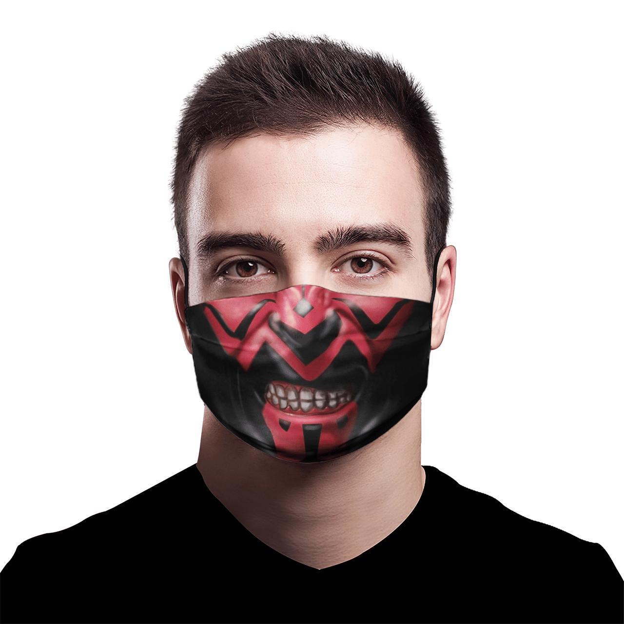 Star War Darth Maul 3D AOP face mask