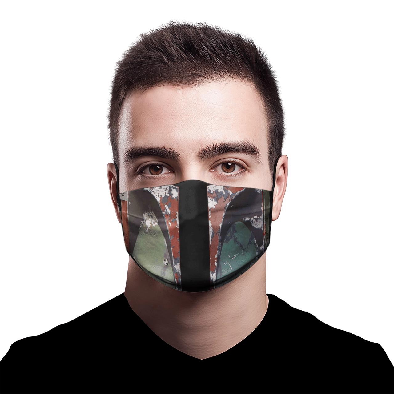 Star War Boba Fett 3D face mask