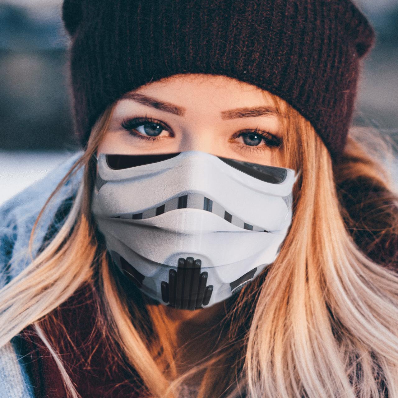 Star Wars Stormtrooper 3D face mask