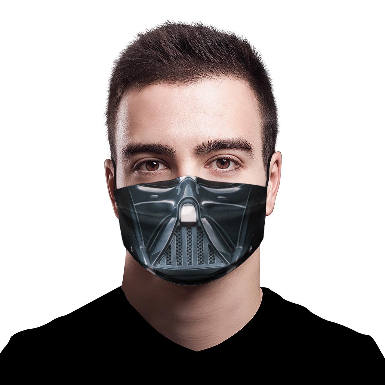 Star Wars Darth Vader 3D face mask