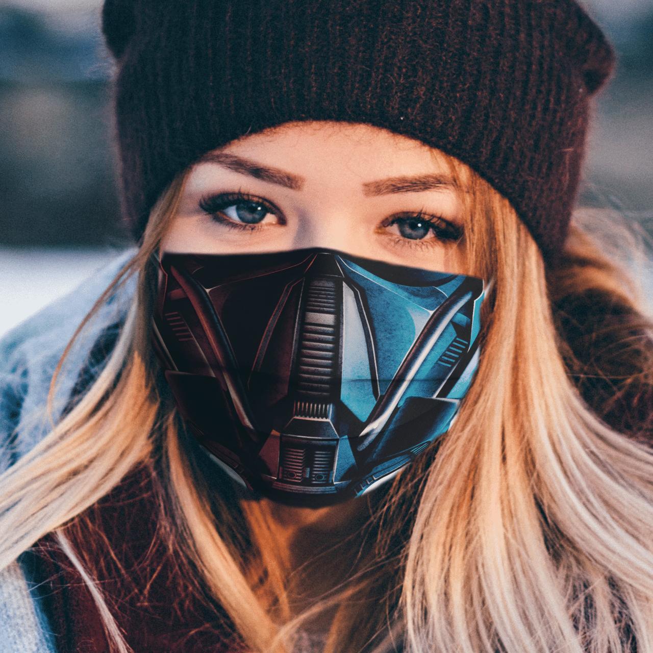 Deathtrooper Star Wars 3D face mask