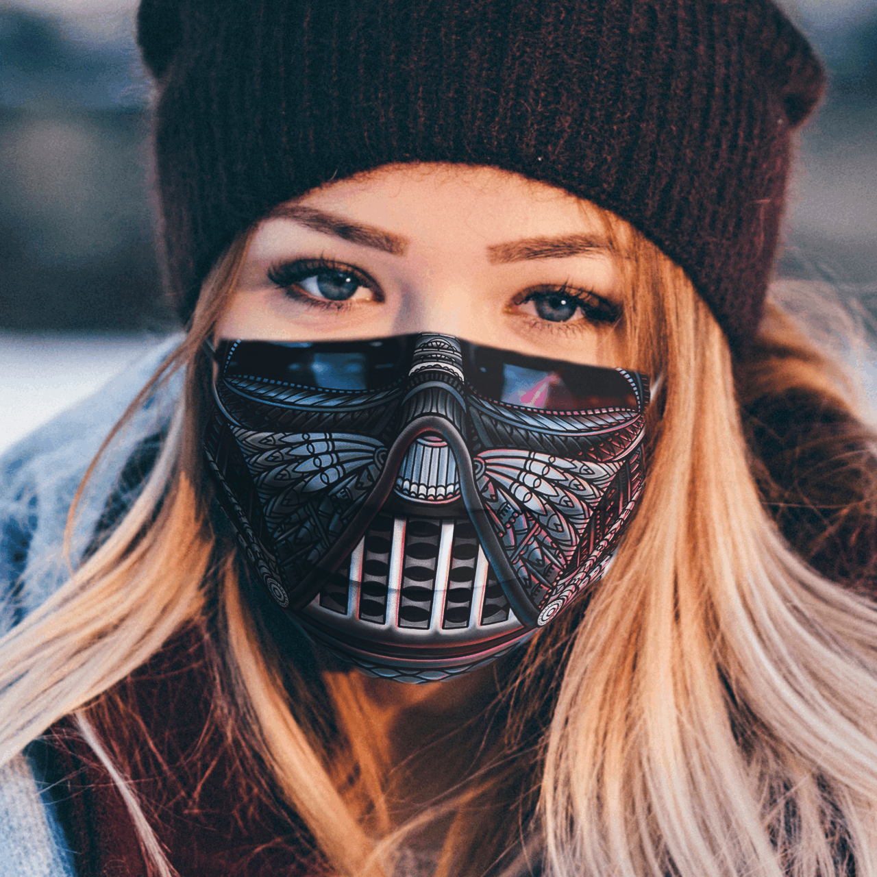 Star Wars Vader Art facemask