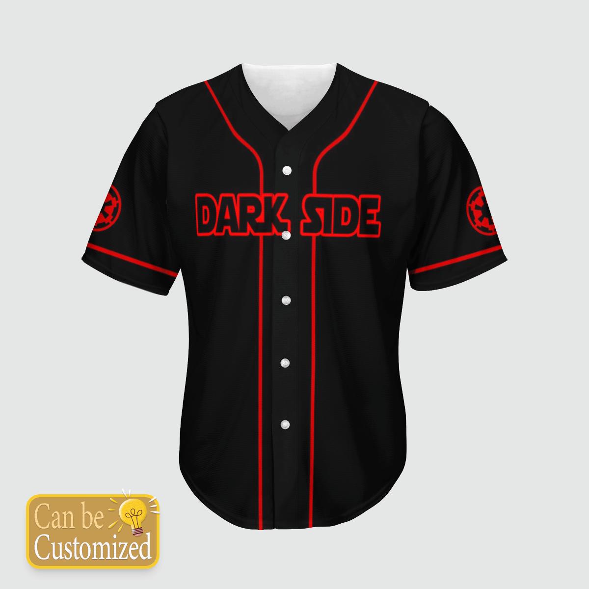 Star wars Dark Side Baseball Jersey