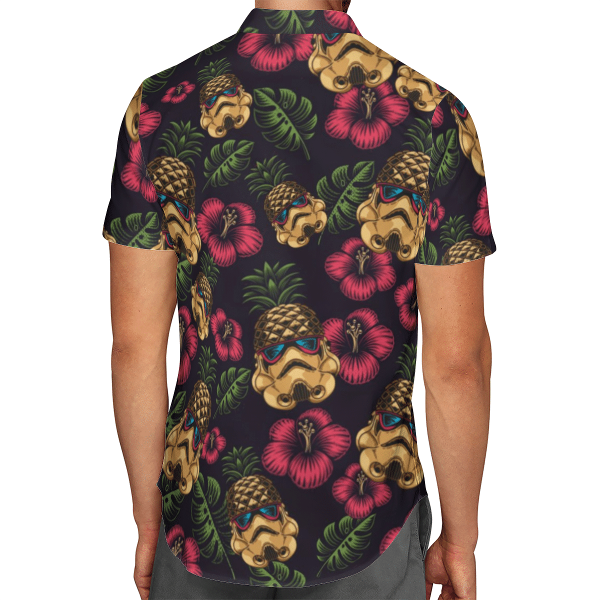 Pineapple Trooper Hawaiian Shirt Summer Shirt