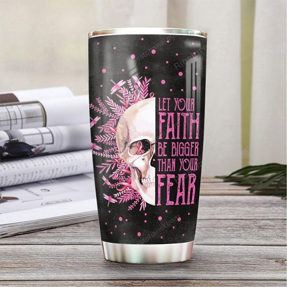 Personalized BC Pink Skull Tumbler
