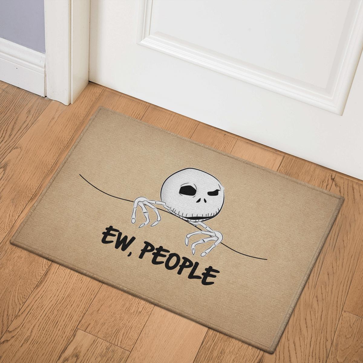Nightmare Disney Ew People Door Mat Bath Mat