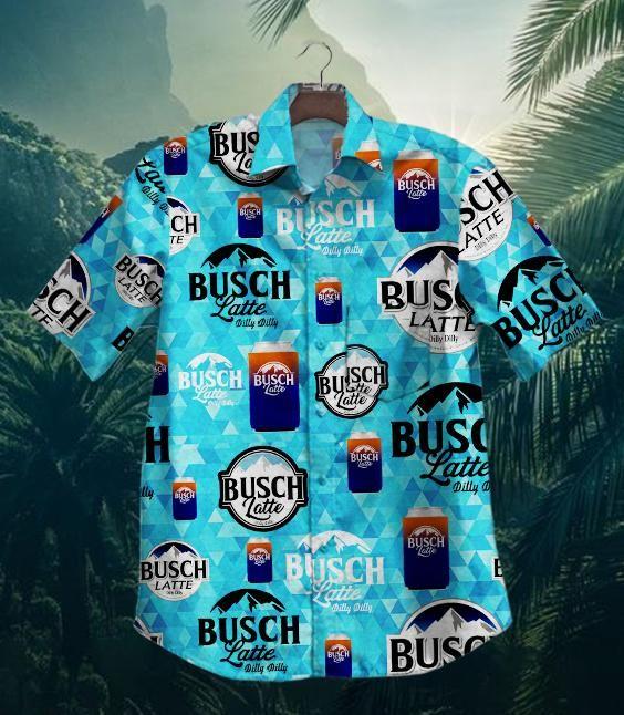 Hot Dilly Dilly Busch Latte Hawaiian Shirt Summer Shirt