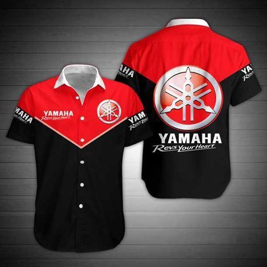 Yamaha Limited Edition Hawaiian Shirt-ZX10007