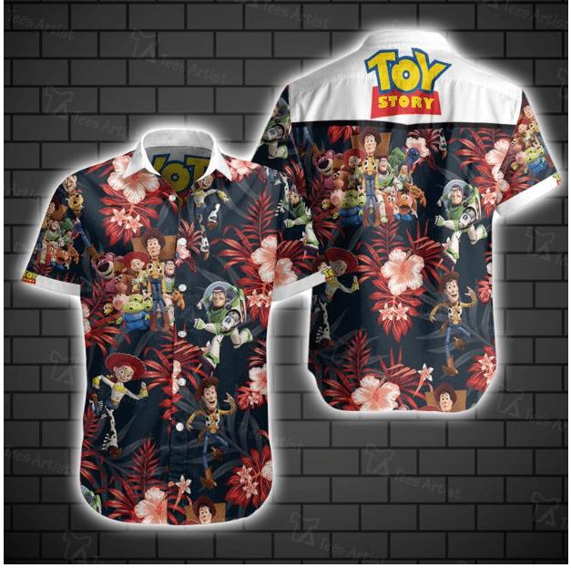 Toy Story Hawaiian Shirt Summer Shirt