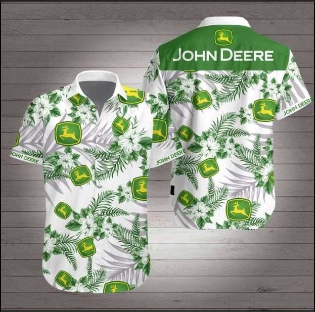 John Deere Hawaiian Shirt Summer Shirt