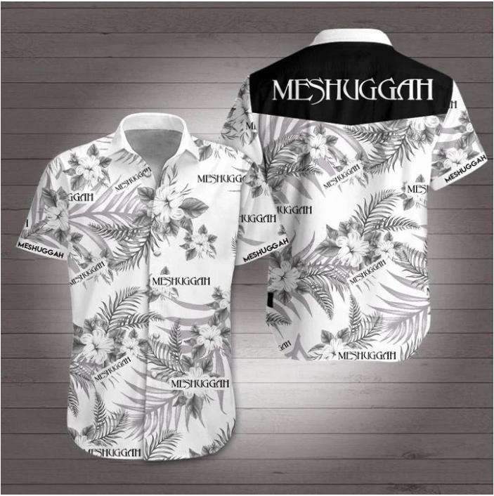 Meshuggah extreme metal band Hawaiian Shirt Summer Shirt