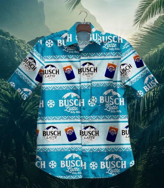 Hot Dilly Dilly Busch Latte Hawaiian Shirt Summer Shirt 2