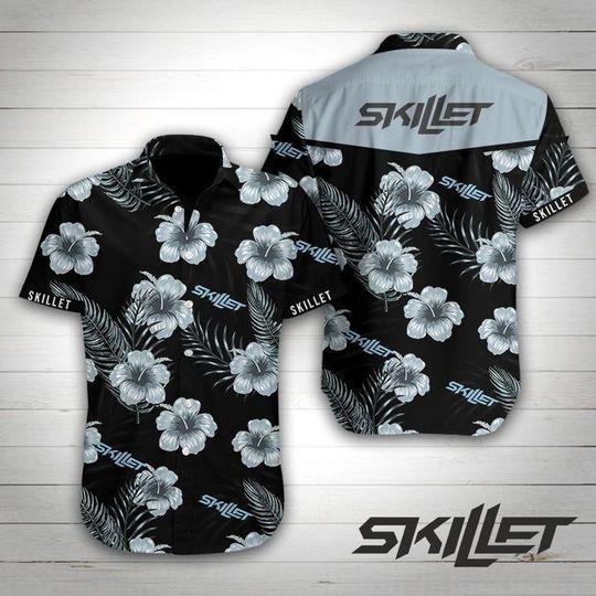 Skillet Rock band Hawaiian Shirt Summer Shirt