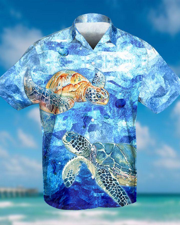OCEAN TURTLE HAWAIIAN SHIRT