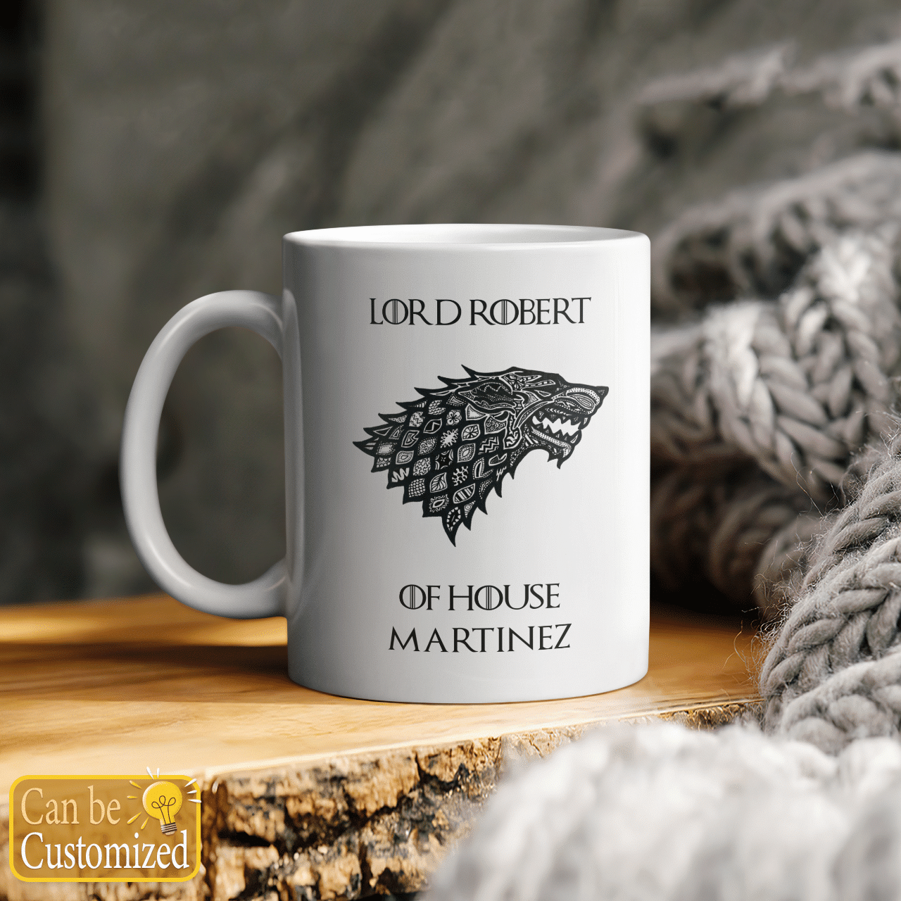 Custom House Game of Thrones mug