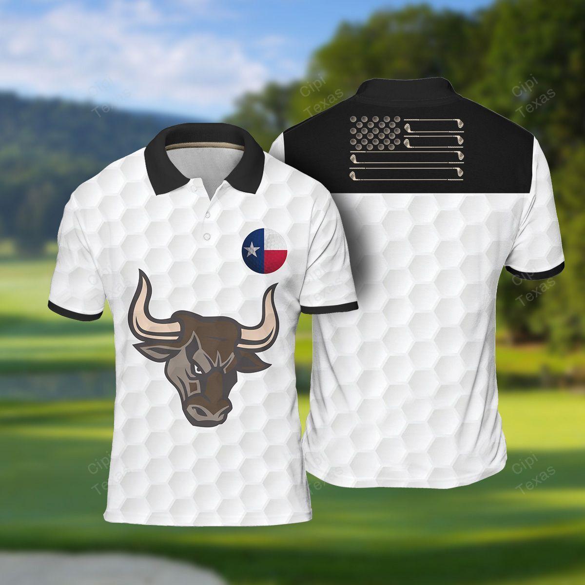 Texas Longhorn Golf Polo Shirt