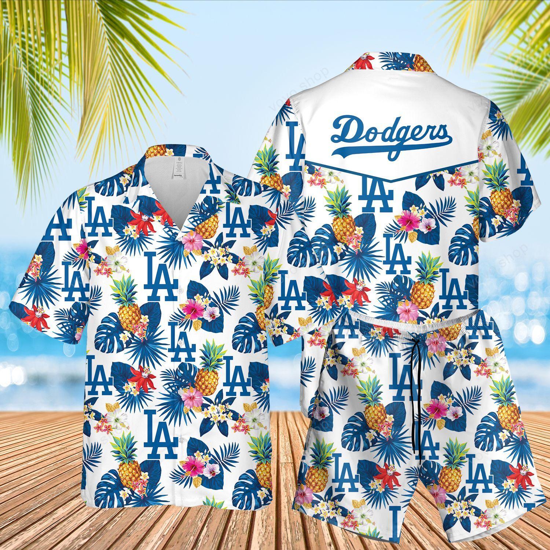 MLB LA Dodgers Hawaiian Shirt