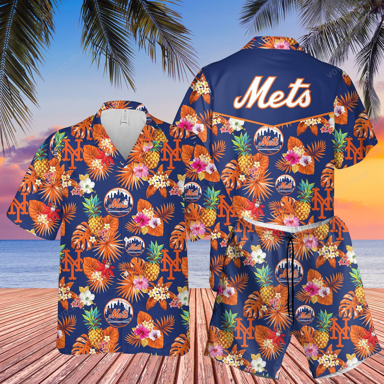 MLB NY Mets Hawaiian Shirt
