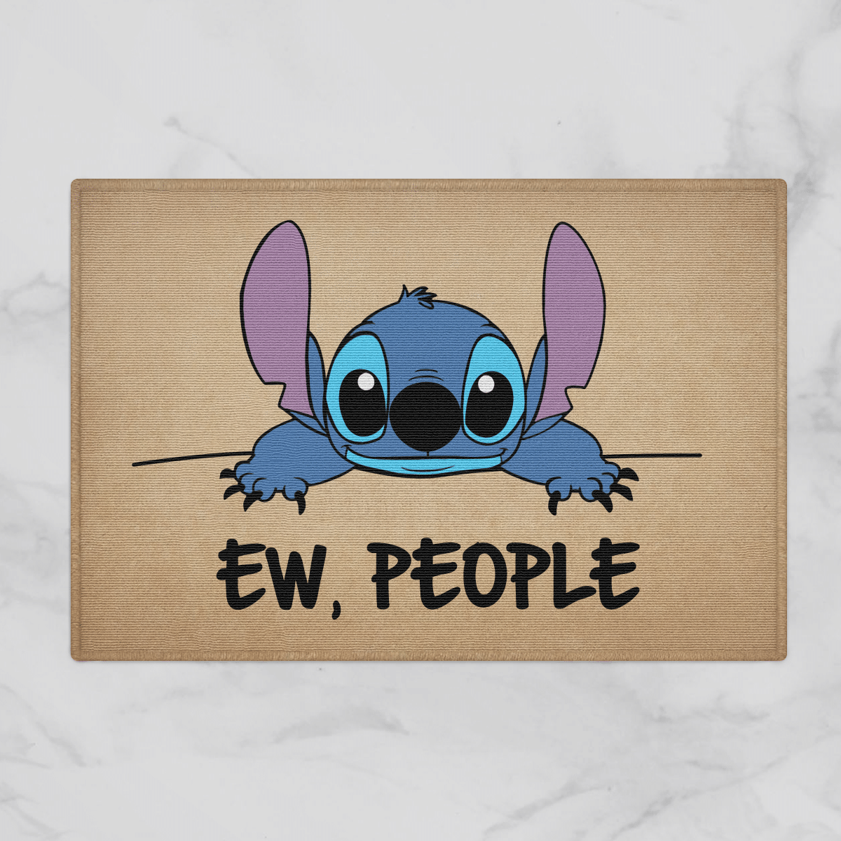 Stitch Disney Ew People Door Mat Bath Mat
