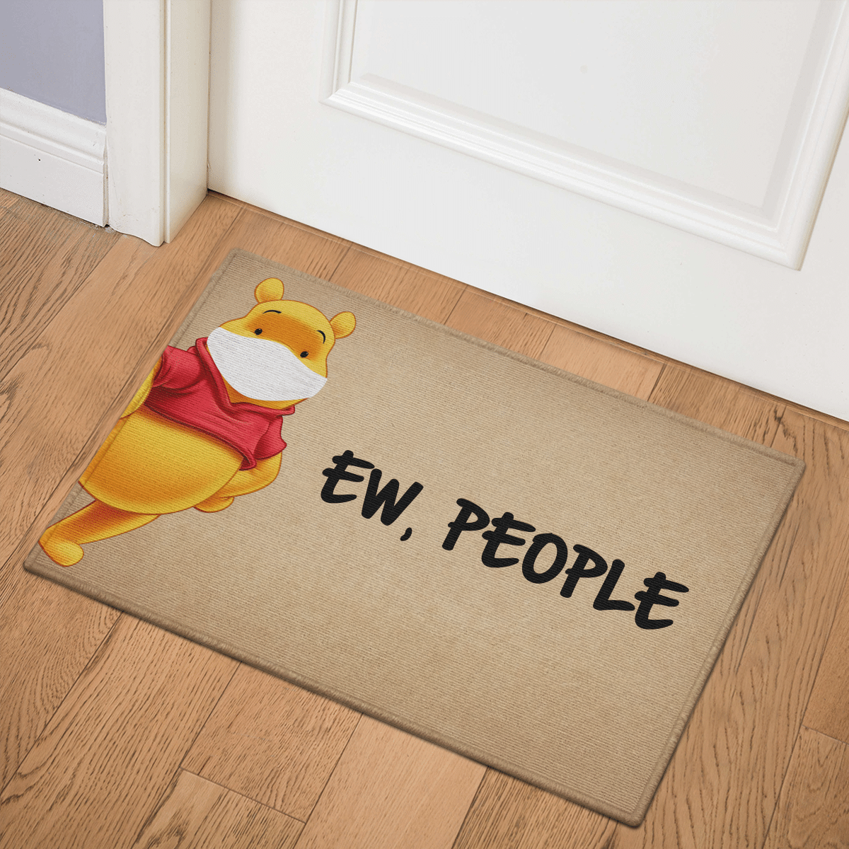 Pooh Ew People Door Mat Bath Mat