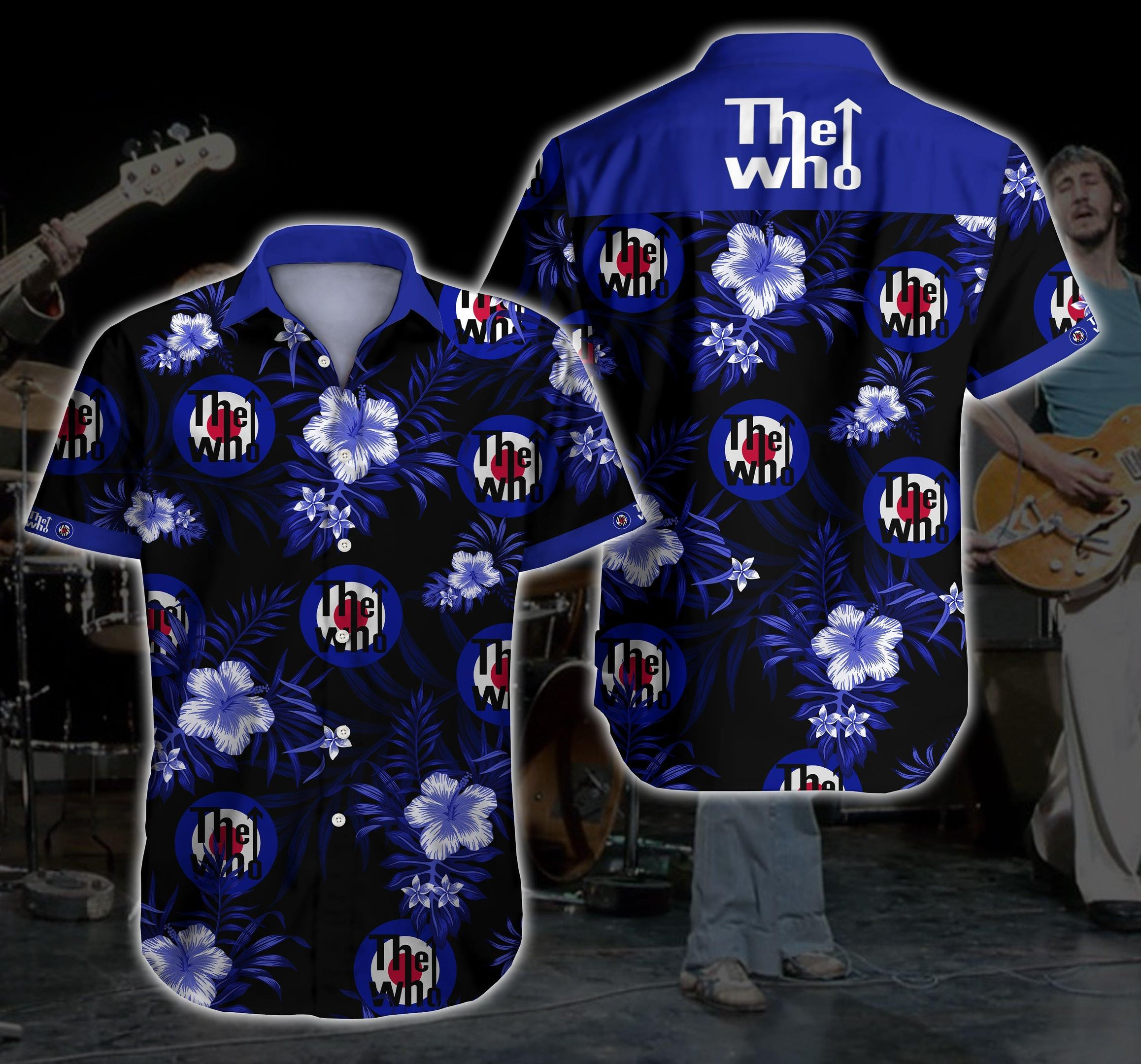 The Who rock Hawaiian Shirt Summer Shirt